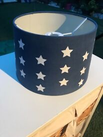 Next Blue Stars Ceiling Light shade