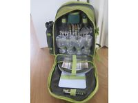 John Lewis 4 person picnic cool bag and accessories