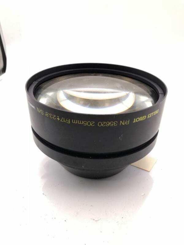 Melles Griot 35620 Scan Lens 205mm