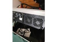Yamaha powerd mixer
