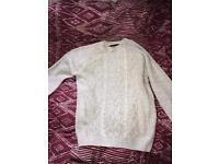 Cedar wood state Primark men's jumper size S