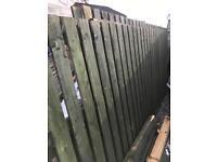Fencing 6 ft 3 meter panels