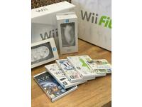 Wii Console, games and Wii fit