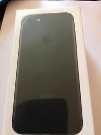 BRAND NEW UNOPENED IPHONE 7 32GB BLACK UNLOCKED