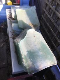 Glass Roof Tiles 30+ available £1 each