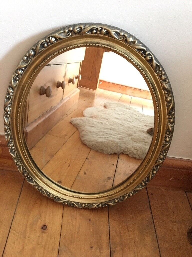 Gold Ornate style mirror
