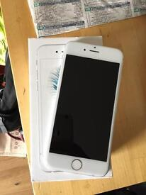 iPhone 6 silver brand new on o2