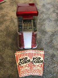 BNIB Retro Style Popcorn Maker