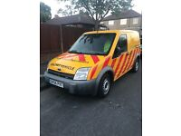 Yellow Ford Transit Connect