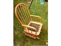 Rocking chair nursing glider Eagle by Dutalier