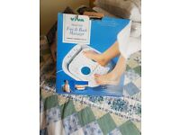 Foot and back massager