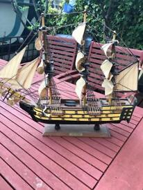 Selection of wooden boats
