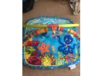 Mothercare fish themed play mat