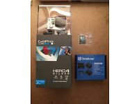 BRAND NEW GoPro HERO4 Camcorder Silver - Comes with 64GB SanDisk SD card + More!