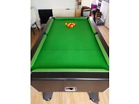 Full size professional pool table