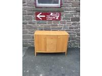 Solid oak Marks & Spencer sideboard *free delivery*