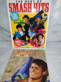 The best of Smash hits the 80's annual with the rare giant poster still included