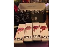 KYLIE JENNER MATTE LIP KIT (PUMPKIN MOON SMILE & SPICE