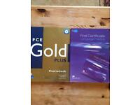First Certificate Language with cd & FCE Gold Plus for FREE