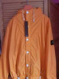 Stone island jacket in size large