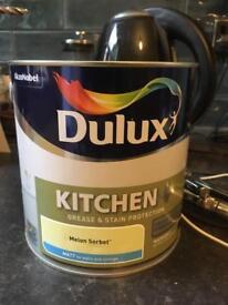 Dulux kitchen melon sorbet Matt paint 2.5l