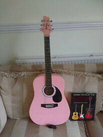 Acoustic Guitar - Jim Deacon 3/4 scale, immaculate condition and as new.
