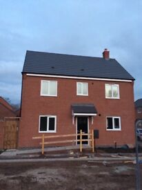 3-bed house to let Hawksyard estate, rugeley