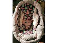 Fisher-Price pink baby chair