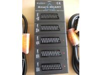 SMART SCART + 2 ADDITIONAL SCART LEADS (Brand New & Boxed)