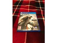 Watch dogs PS4 game collection only