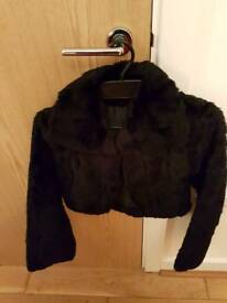 Black and white shrug unworn