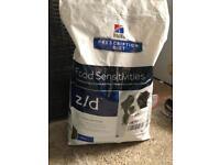 Dog food hills prescription diet food sensitivities