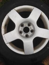 Spare - Audi B6 A4 Sport Alloy 5x112
