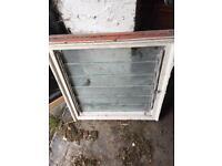 Antique mechanical window