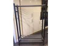 IKEA TJUSIG £35 Clothes Rack - ideal for a hallway