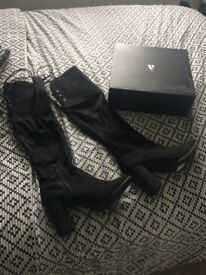 Over knee boots size 8