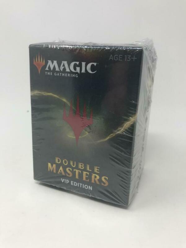 MTG Magic the Gathering Double Masters VIP Edition Booster Pack Box NEW (invA2)