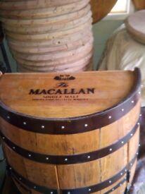 Whisky Barrel Cabinet