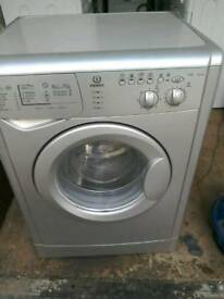 Silver Indesit 6kg 1400 spin free local delivery allelectricals