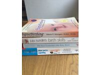 Pregnancy and hypnobirthing baby book and cd bundle