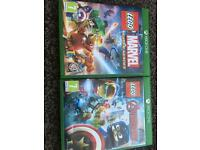 Lego avengers and Lego super heroes Xbox one
