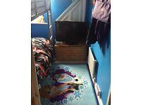 SHORTY BUNK BEDS METAL