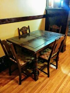 Antique (1939) Table, Buffet and Cabinet