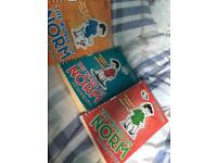 3 world of norm books