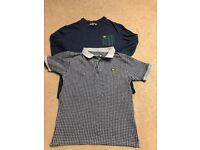2 x Lyle and Scott tops age 12-13 years