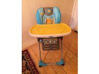 Used chicco, polly high chair