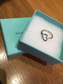 Genuine beautiful Tiffany ring - perfect Valentines gift