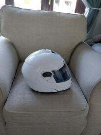 Shark openline helmet with sun visor