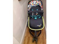 Cosatto pram and carry cot