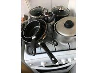 Kitchen POTS, PANS and UTENSILS